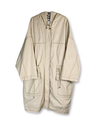 Asos бежевая куртка-парка