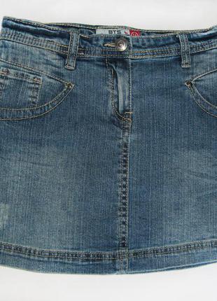 Короткая джинсовая юбка на девочку 14 лет. новая!