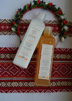Натуральный яичный шампунь для сухих волос