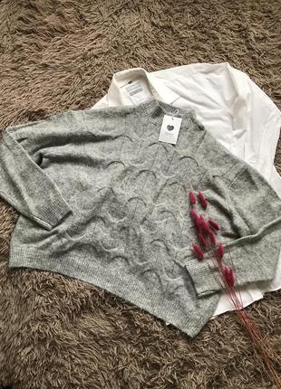 Вязаный свитер jennyfer