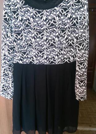 Воздушное платье с кружевом koko by koko 18-20 размера