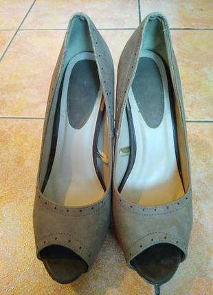 Туфли бежевые классика