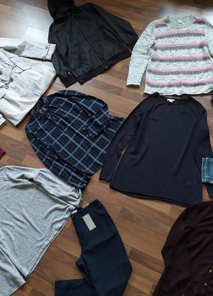 Большой пакет набор одежды на размер 48 l