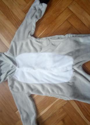 Махрова піжама костюм звірятко