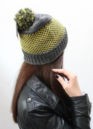 Вязанная шапка!