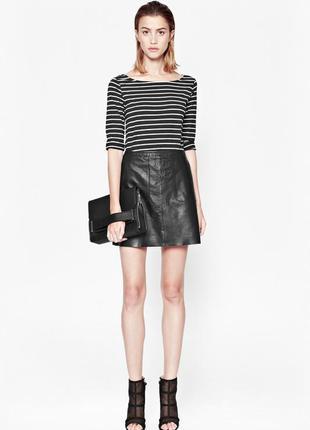 Новая стильная юбка 100% кожа dickins&jones 14-16pp