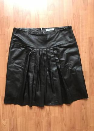 Новая стильная юбка 100% кожа dickins&jones 14-16pp2