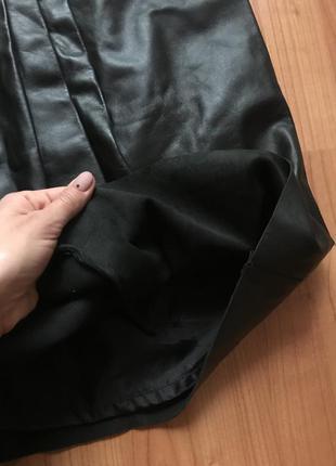 Новая стильная юбка 100% кожа dickins&jones 14-16pp4
