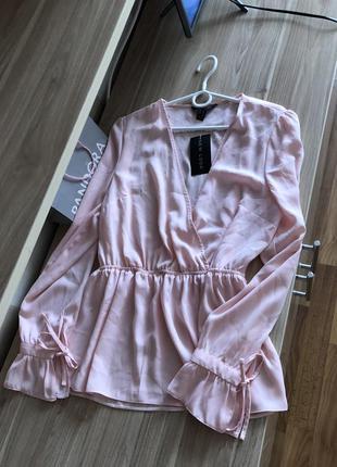 Новая с биркой блузка блуза нежная