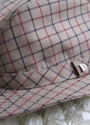 Шляпа винтаж трилби trilby dannimak 56 см2