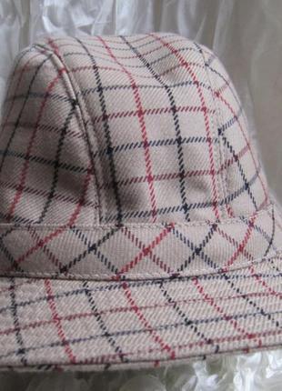 Шляпа винтаж трилби trilby dannimak 56 см3