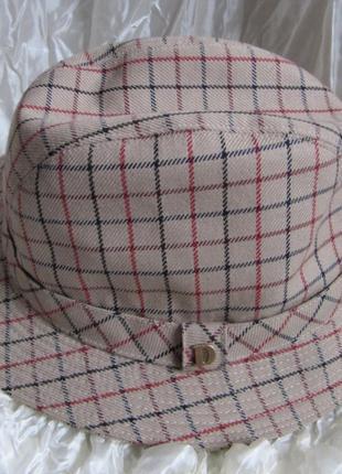 Шляпа винтаж трилби trilby dannimak 56 см1