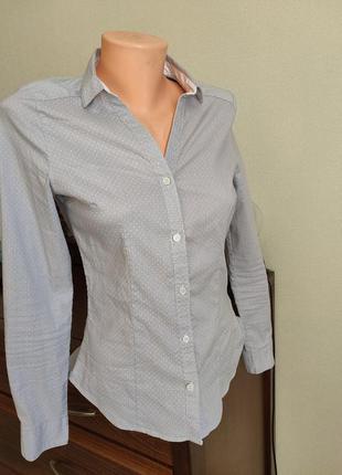 Натуральна блуза/ рубашка. стан нової ❤️❤️