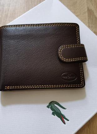 Мужской кошелек портмоне anemi англия натуральная кожа