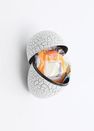 Игрушка питомец тамагочи в белом яйце динозавра