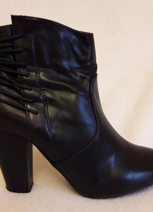 Стильные ботинки фирмы cube p. 38 стелька 24,5 см