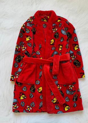 Next   классный плюшевый халат на мальчика  6 лет