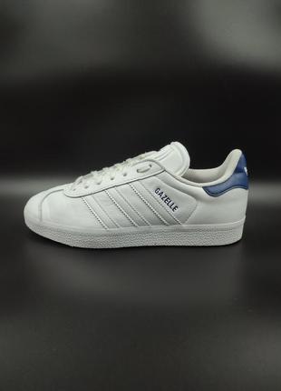 Шкіряні кросівки adidas gazelle