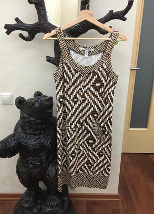 Платье diane von furstenberg,