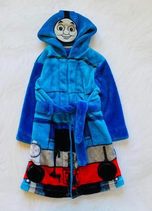 Mothercare классный плюшевый халат на мальчика  1,5-2 года и 2-4 года