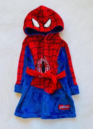 Primark классный плюшевый халат на мальчика 1,5-2 года