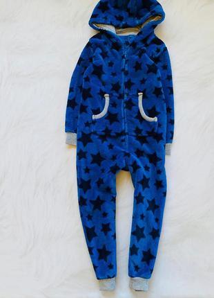 George   теплый плюшевый ромпер на мальчика 4-5 лет