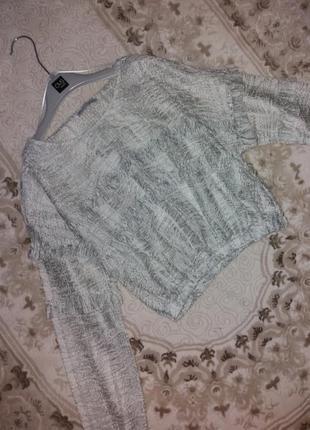 Новая коттоновая блуза zara