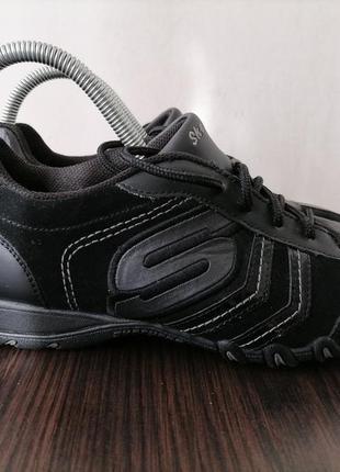 Кожаные кроссовки фирмы skechers