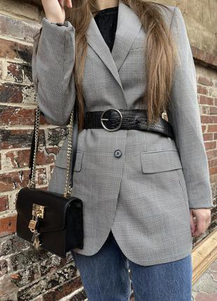 Marks&spencer/ піджак/ оверсайз піджак/ пиджак в гусиную лапку