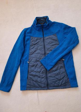 Стильна чоловіча флісова курточка, розмір xl