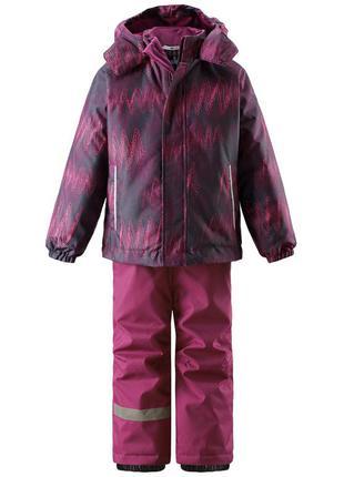Зимний костюм для девочки lassie by reima. размер 104