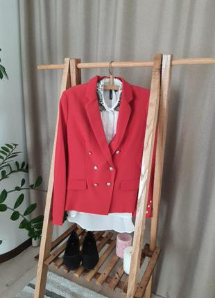 Шикарный женский комплект, mango, пиджак и блуза!!!