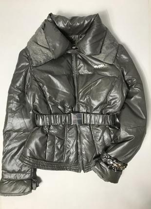 Зимняя куртка пуховик на девочку fun&fun италия