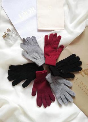 Перчатки женские takko
