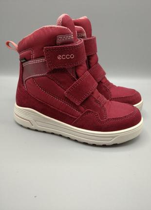 Оригинальные детские ботинки ecco gore-tex