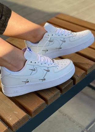 Кроссовки nike air force 1 lx white