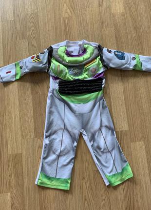 История игрушек. базз лайтер. карнавальный костюм. наряд космонавта