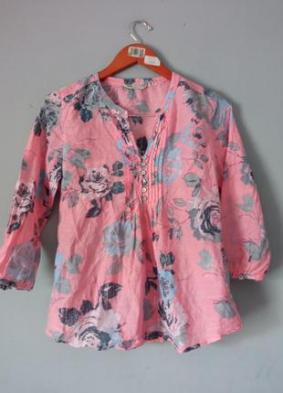 Блуза котон шовк
