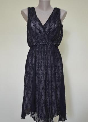 Супер нарядное платье гипюр