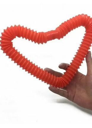 Pop tube игрушка антистресс / гофрированная труба
