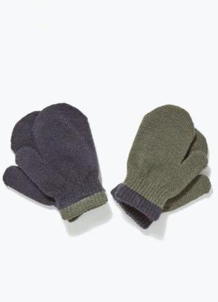 Практичный набор варежек рукавиц 2пары matalan
