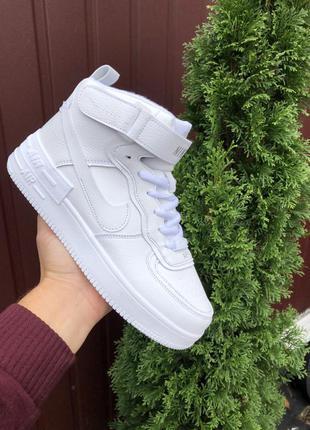 Зимові кросівки nike air force 1 shadow