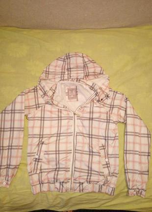 Куртка ветровка pull & bear