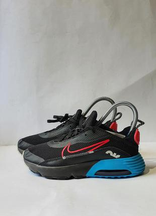 Кроссовки кросівки nike air max 2090 ps 'black light blue fury' dj4609-001