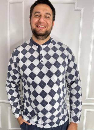 Пижама мужская флисовая
