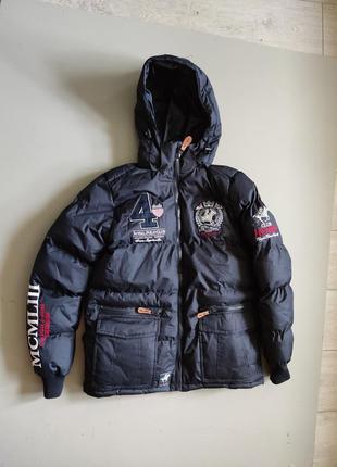 Мужская зимняя куртка geographical norway