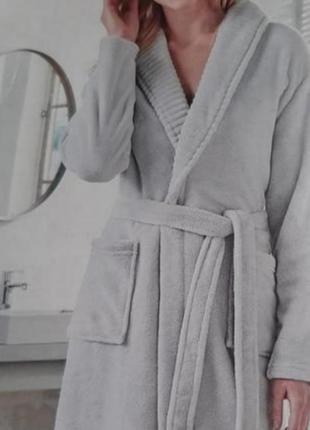 Плюшевий халат від німецького бренду