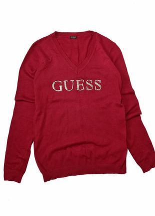 Пуловер з v-образним вирізом  розмір с  стан ідеальний  колір бордо ( камера не передала )