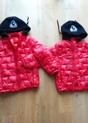 Куртки курточки дитясі для двійні двійнят близнят блищнюків осінні демисезонні