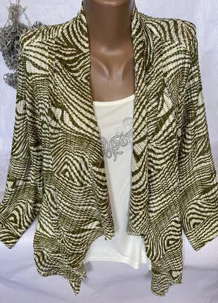 Красивая нежная кофта блуза 2 в одном chianti